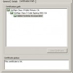 Certificate Information - Path