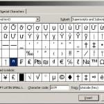 Superscript and Subscripts