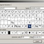 Letterlike Symbols