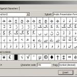 Arabic Presentation Forms A