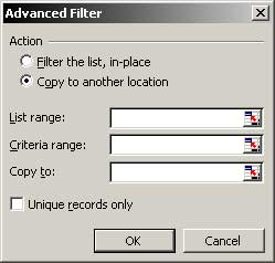 Advanced Filter